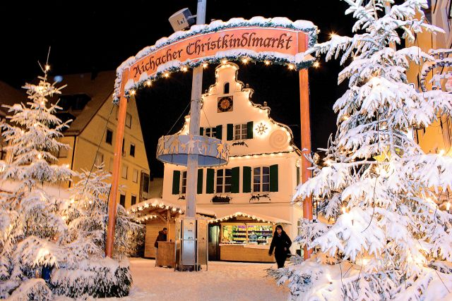 Weihnachtsmarkt Aichach.Christkindlmarkt Aichach